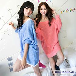 1020新品 蜜糖女孩~寬鬆長版嚴選針織上衣.3色