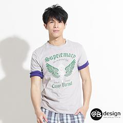 【最後倒數.零碼特賣】精選100%純棉系列~異人翅膀短袖T恤‧男3色