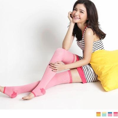 0425新品 【特價款】 健康睡眠美腿襪~超強進階版240丹膝上款‧女4色