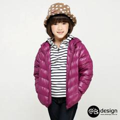 0929新品 特級極輕羽絨系列~繽紛多彩連帽羽絨外套‧童6色
