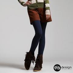 吸濕發熱衣機能系列~飾腿纖細內搭九分褲‧女8色