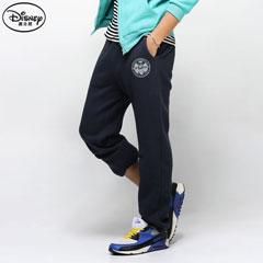 【歡樂加倍.迪士尼】迪士尼厚刷毛系列~個性酷感米奇束口長褲‧男3色