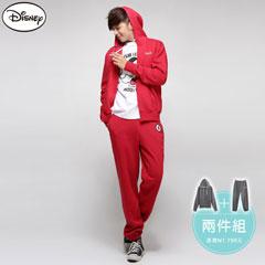 【溫暖刷毛‧限時8折】迪士尼厚刷毛系列~米奇背面外套+長褲套裝~男3色-aw