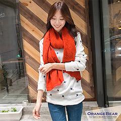 0829新品 清新風潮~大圓領前短後長針織長袖上衣.5色