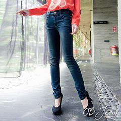 0720新品 美腿革命~嚴選質感系暈染刷色極修飾牛仔褲