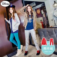【溫暖刷毛‧限時8折】迪士尼超保暖刷毛系列~俏甜米妮外套+長褲套裝‧女3色