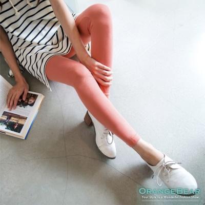 人氣話題~韓系繽紛撞色腰圍內搭褲‧8色