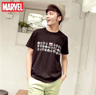 0514新品 Marvel純棉系列~人氣角色頭像大集合T恤‧男3色