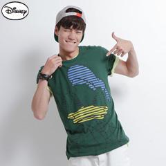 【迪士尼‧繽紛仲夏】純棉個性條紋唐老鴨T恤‧男3色