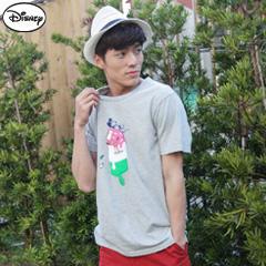 【迪士尼‧繽紛仲夏】純棉/情侶款系列~彩色繽紛冰棒米奇T恤‧男3色
