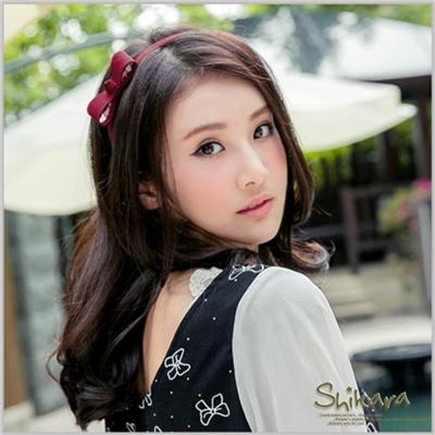 【浪漫飾品♥2件8折】 質感NO.1~舒適包邊素色蝴蝶結髮箍‧4色