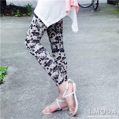 【春氛特賣】絕美玫瑰花圖案內搭褲•2色