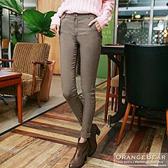 0820新品 完美修身~立體剪裁彈力打摺美型長褲.4色