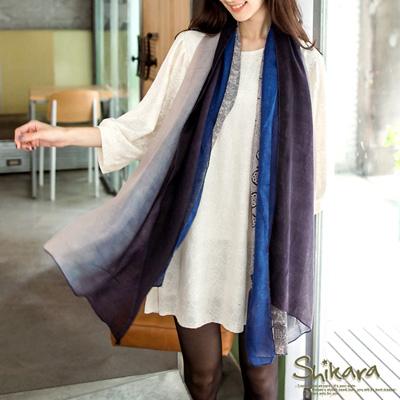 0303新品民族質感~圖騰渲染高質感圍巾.5色