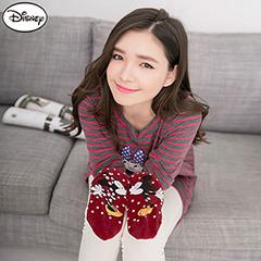0901新品 迪士尼穿搭系列~米老鼠點點踝襪‧(兩雙一組)‧1款