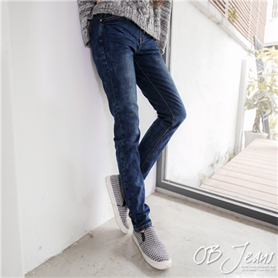 0807新品 百變造型~嚴選韓版愛心口袋水洗質感牛仔褲