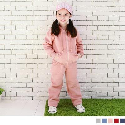 0616新品 保暖升級~嚴選磨毛兒童休閒棉褲(男女皆可穿).5色