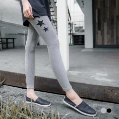 0917新品 自我率性~星星造型透紗鏤空內搭褲.2色