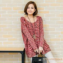1020新品 絢麗風格~獨特暈染效果針織毛衣.3色