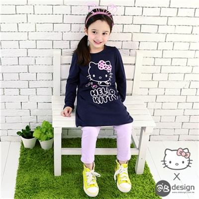 0616新品 HELLOKITTY保暖升溫系列~牛奶洋裝‧童3色