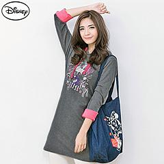 0915新品 迪士尼輕暖衛衣系列~甜蜜米妮連帽洋裝‧女3色