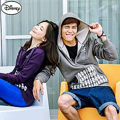 1008新品 迪士尼超保暖刷毛/情侶系列~米奇造型口袋外套‧男3色