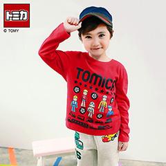 0909新品 TOMICA純棉系列~玩具車與角色大集合T恤‧童3色