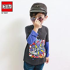 0909新品 TOMICA純棉系列~美式玩具車假兩件T恤‧童3色