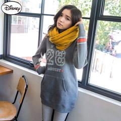 【迪士尼.歡樂秋祭】 迪士尼超保暖刷毛系列~小米奇印花28長版T恤‧女3色