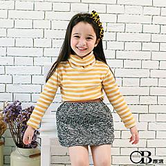 1022新品 親子裝系列~淡雅條紋套頭長袖上衣.3色
