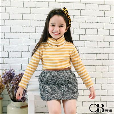 0415新品 親子裝系列~淡雅條紋套頭長袖上衣.3色