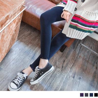 1224新品 【特價款】 美型焦點~舒適透氣超彈力九分蕾絲內搭褲襪.4色