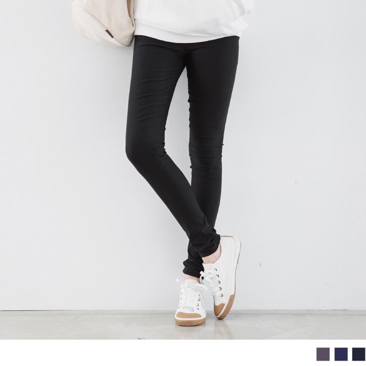 暖瘦時尚~抹腹ob嚴選門市地址設計拉鍊刷毛彈力窄管褲?3色