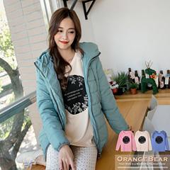 0127新品 清新秀麗~圓圓圖形燙印拼布蕾絲層次上衣.3色