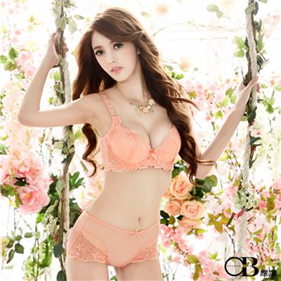 【春夏斷碼♥2件59折】氣質迷人~3/4罩蝴蝶結蕾絲內衣(B-C)