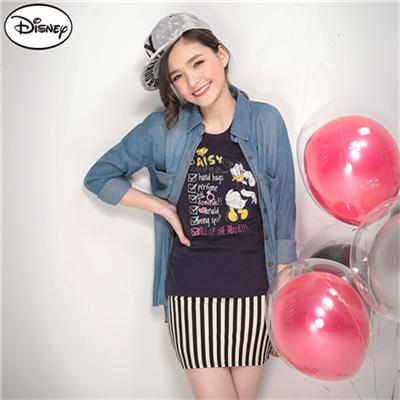 0429新品 迪士尼純棉系列~黛西的願望清單T恤‧女3色