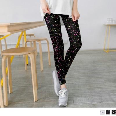 0622新品 夏日活力~星星/潑漆感撞色點點造型內搭褲.3色