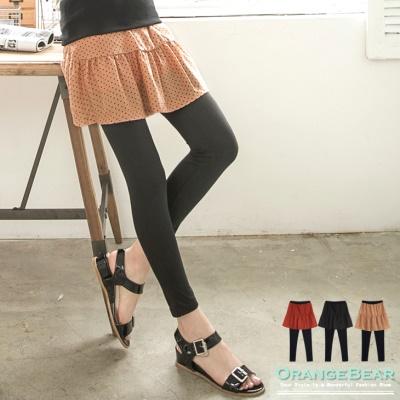 0524新品 可愛復古~假兩件式圓點小短裙內搭褲.3色