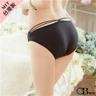 0706新品【特價款】危險曲線~簡約素色牛奶絲內褲‧台灣製‧2色
