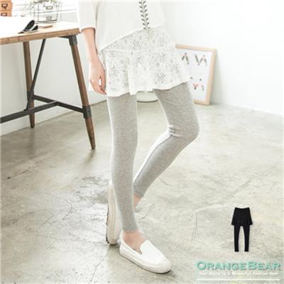 0601新品 唯美浪漫~假兩件式設計蕾絲雕花小短裙內搭褲.2色