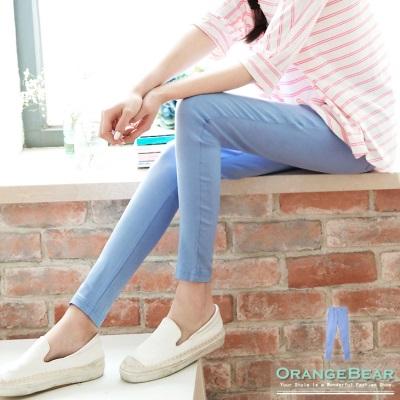 0529新品 不敗線條~素色彈性修身打褶長褲.5色