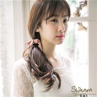 【特價款】甜美格調~皮革蝴蝶結造型髮圈.4色