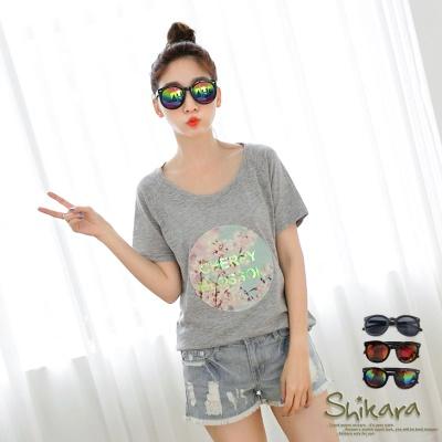 0618新品【特價款】矚目焦點~炫彩反光鏡片粗框太陽眼鏡.3色