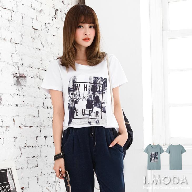 0314新品 潮流品味~精選ob嚴選品質歐美街頭風拼布長版T恤.2色