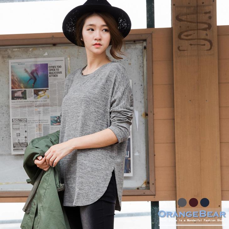 0121新品 混色舒適軟感面料側開岔簡約上衣ob 嚴 選 店面.3色