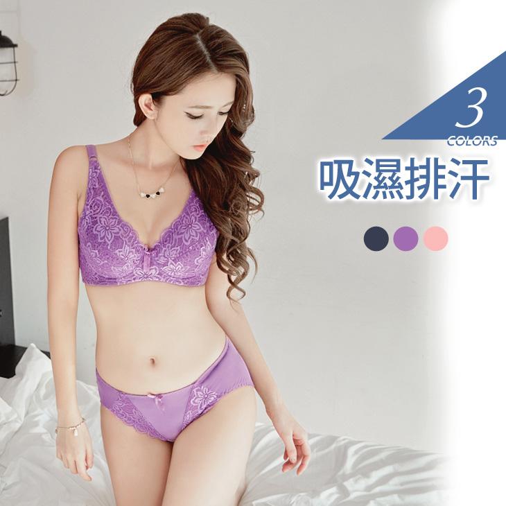 美麗花語ob實體店面~立體全罩杯蕾絲美型內衣組?3色(C-F)