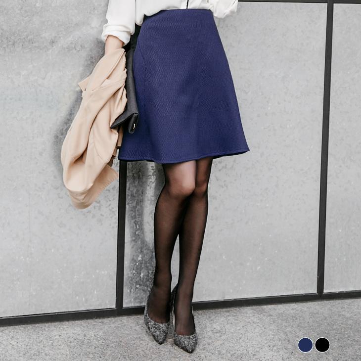 0122新品 流行款ob嚴選 拍賣立體面料小A傘狀裙.2色