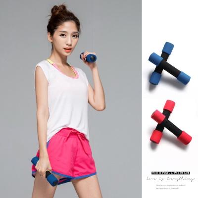 0621新品 提升肌耐力運動健身啞鈴(1KG)/2入1組.2色