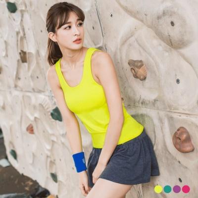 0301新品 內罩杯設計美背挖空造型運動背心.4色