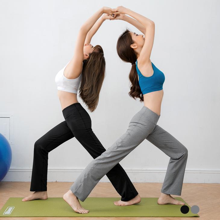 ob 迪士尼0601新品 高磅數吸濕排汗運動休閒瑜伽褲/寬褲.2色